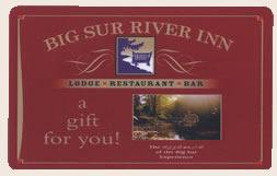 big sur river inn gift card