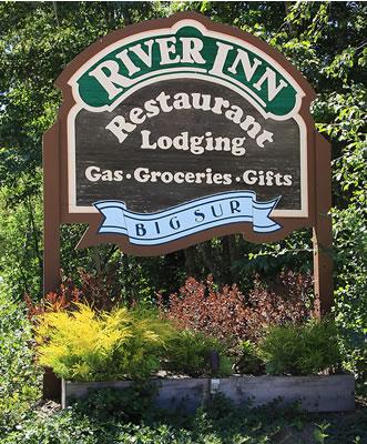 big sur river inn sign