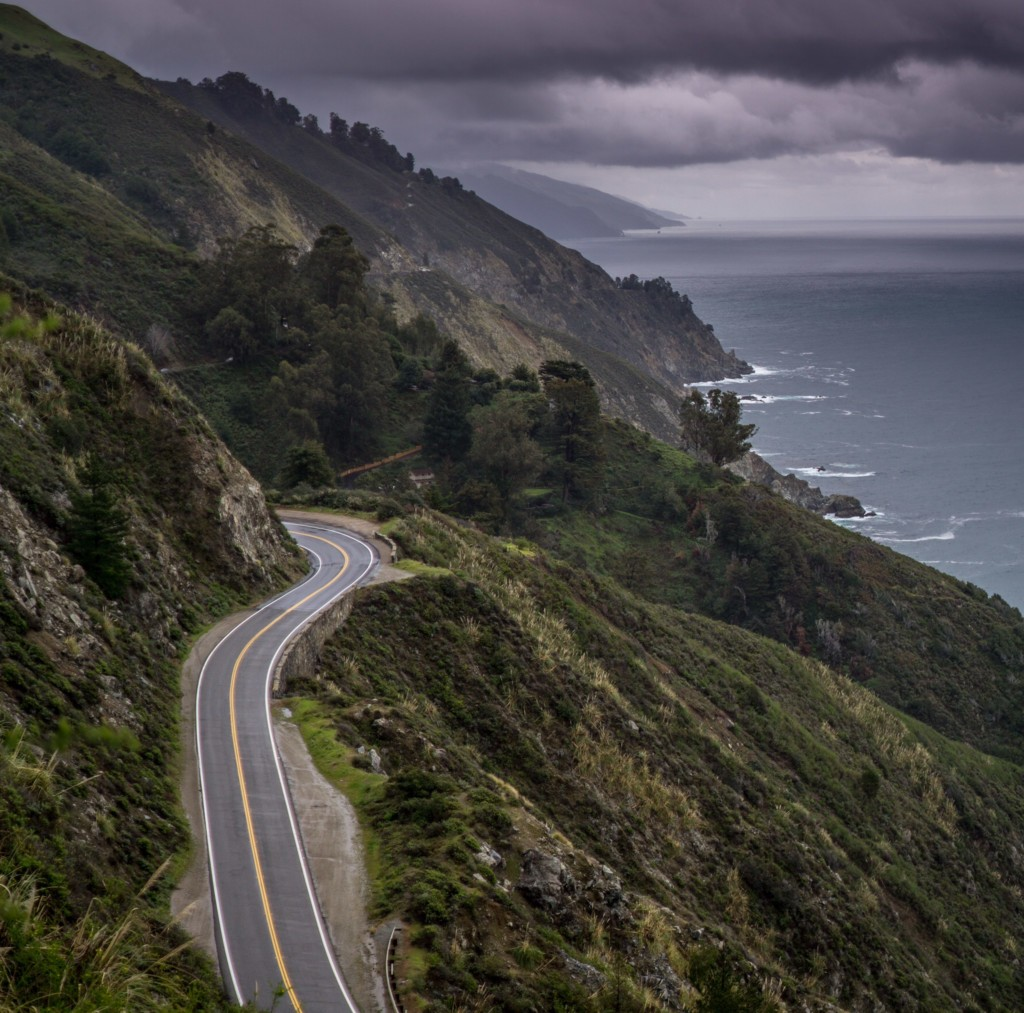 big sur highway one coastal route